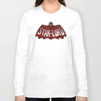 star lord Long Sleeve T-shirts featuring Star Lord logo by Buby87