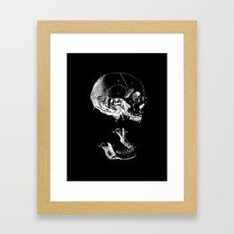 Jaw Bones Framed Art Print