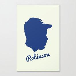 Jackie Robinson Canvas Print
