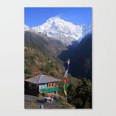 Annapurna South, Himalayas, Nepal Canvas Print