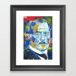 CARL JUNG - portrait.8 Framed Art Print