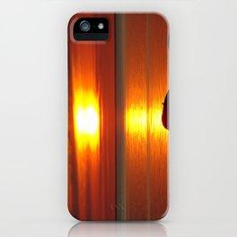 Hazy Seaside Sunset iPhone Case