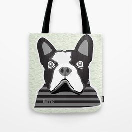 borris the french bulldog Tote Bag