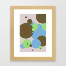 One Unlike The Others Framed Art Print