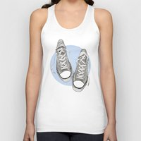converse Tank Tops featuring Converse by maeveelectro