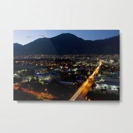 Caracas de noche Metal Print