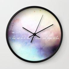 Dwell V1 Wall Clock