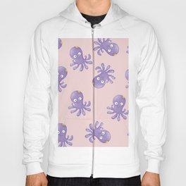 Octopus - Light Pink Hoody