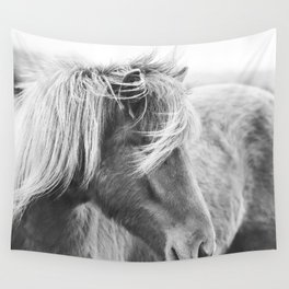 Modern Rustic Horse Wall Tapestry