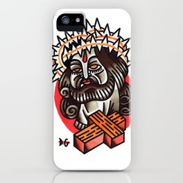 cristo iPhone Case