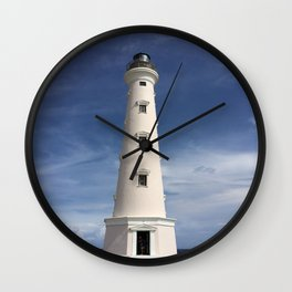 Aruba Lighthouse Wall Clock