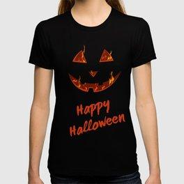 happy halloween bonfire Pumpkin gift hallowe T-shirt