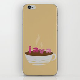 Java: This is so relaxing! iPhone Skin