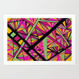 I love candy Art Print
