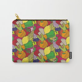 Colorful vegetables and fruit pattern Carry-All Pouch