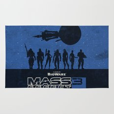 Mass Effect 3 Rug