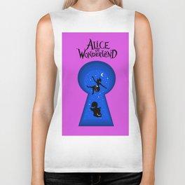 Alice In Wonderland - pink Biker Tank
