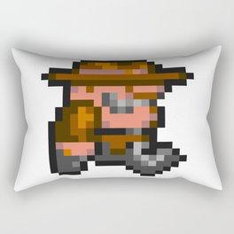 Rick Dangerous Rectangular Pillow