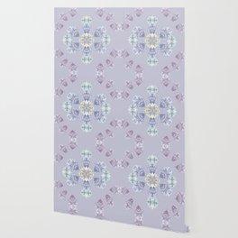Pastel wildflowers Wallpaper