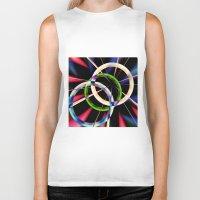 circles Biker Tanks featuring circles by haroulita