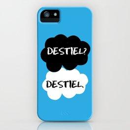 Destiel - TFIOS iPhone Case