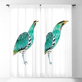 Botaurus Stellaris | Endangered Birds Collection Blackout Curtain