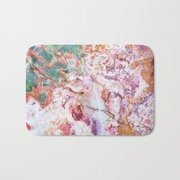 Multicolor geode amethyst slice Bath Mat