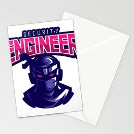 Ninja Security Engineer Stationery Cards