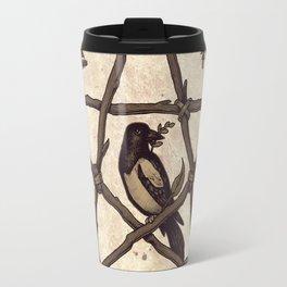 Botanical Pentacle: Wild Witch Travel Mug
