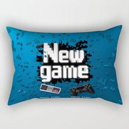 New game Rectangular Pillow