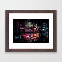 London Nights / Liam Wong Framed Art Print