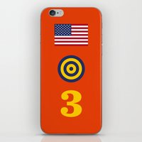 marc johns iPhone & iPod Skins featuring Iconic Painters: Jasper Johns by re:design