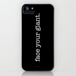 Save The Beanstalk iPhone Case