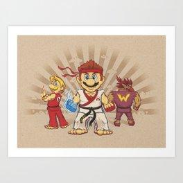 Smash Brotherhood Art Print