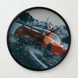 GTR Drift Wall Clock