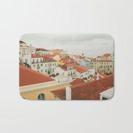 Portugal Lisboa Cityscape photography Bath Mat