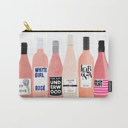 Rose Bottles Carry-All Pouch
