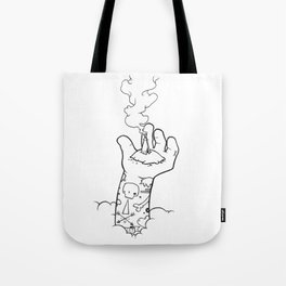 Lifted Above Tote Bag