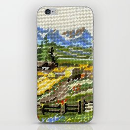 Found Tapestry Landscape iPhone Skin