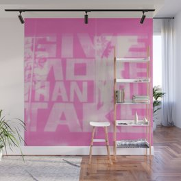 Give and Take Wall Mural
