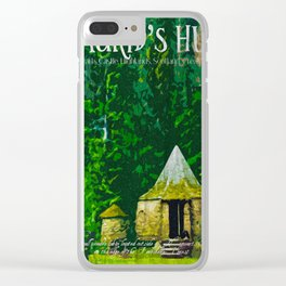 Hagrid's hut Clear iPhone Case