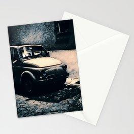 Vintage 500 in Italian Noir Stationery Cards