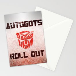 Autobot Recruitment Stationery Cards