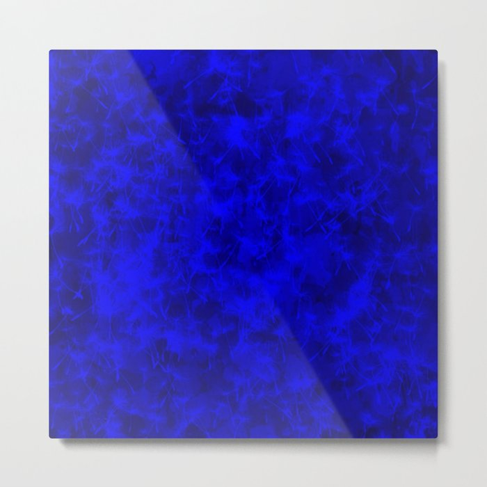 Vivid Colors, deep blue Metal Print