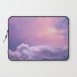 Sunset and Clouds   Blush Pink   Unicorn   Sky Laptop Sleeve