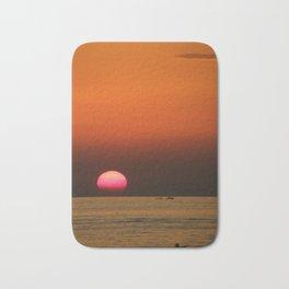 Sunset in Croatia Bath Mat