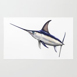 Swordfish Art, Decor and Gifts Rug