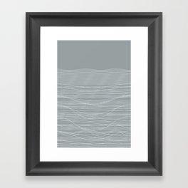 Unstable Lines Framed Art Print