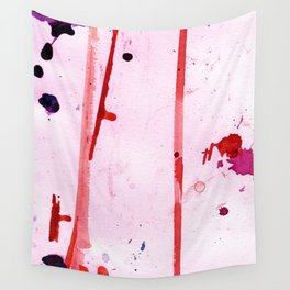 Pink Breeze Wall Tapestry