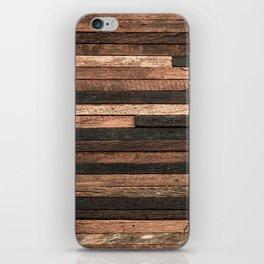 Vintage Wood Plank iPhone Skin